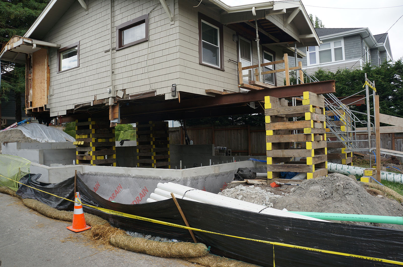 Foundation Systems Restoration Repair New Basement House Raising Foundation Replacement Pier And Beam In Seattle